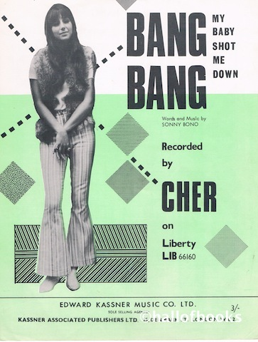 Image for Bang Bang (My Baby Shot Me Down). Recorded by Cher