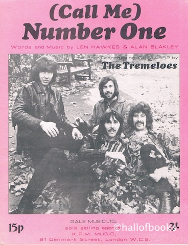 Image for (Call Me) Number One. Recorded by The Tremeloes