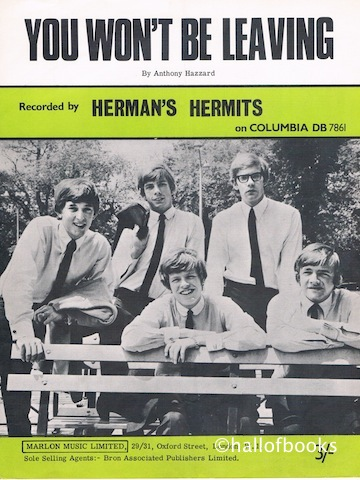 Image for You Won't Be Leaving. Recorded by Herman's Hermits