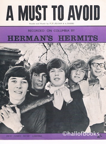 Image for A Must To Avoid. Recorded by Herman's Hermits