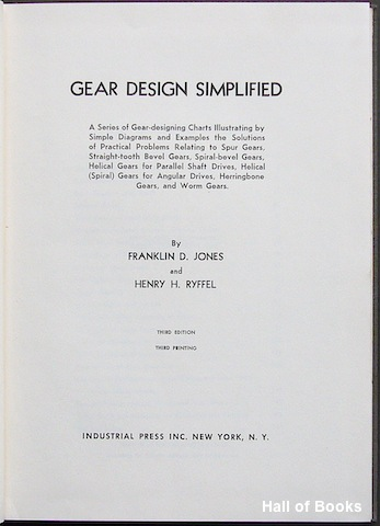 Image for Gear Design Simplified.