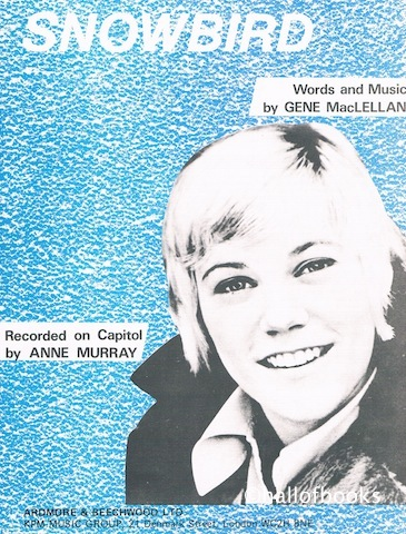 Image for Snowbird. Recorded by Anne Murray