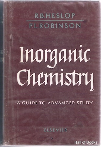 Image for Inorganic Chemistry: A Guide To Advanced Study