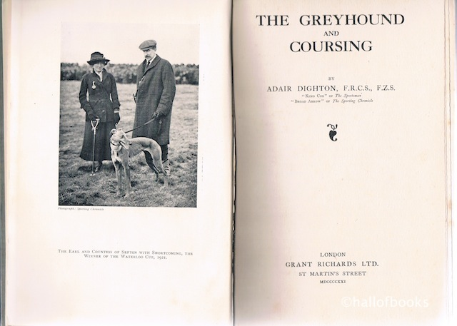 Image for The Greyhound And Coursing