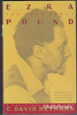 Image for Ezra Pound: The Last Rower
