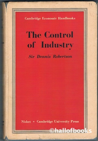Image for The Control Of Industry