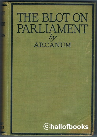 Image for The Blot On Parliament And The Cleansing