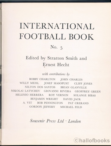 Image for International Book of Football No.5