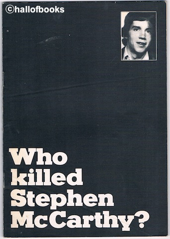 Image for Who Killed Stephen McCarthy?