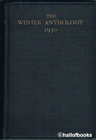 Image for The Winter Anthology 1930: A Compilation Of Represetative Verse From The World's Living Poets