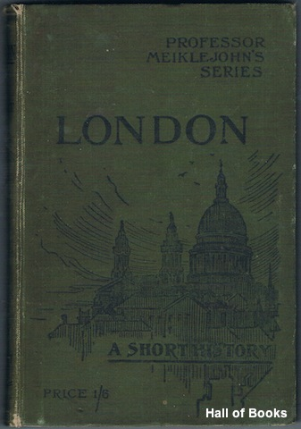 Image for London: A Short History With Maps and Illustrations