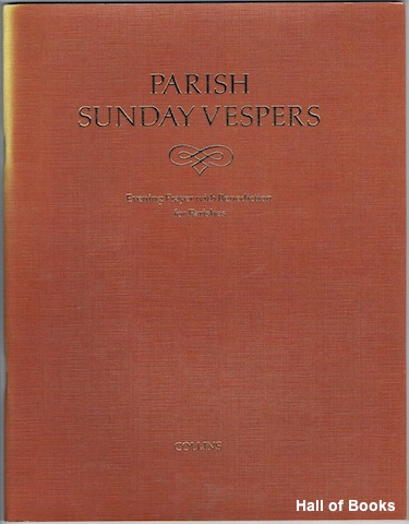 Image for Parish Sunday Vespers: Evening Prayer With Benediction For Parishes