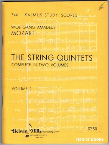 Image for The String Quintets Complete In Two Volumes: Volume 2
