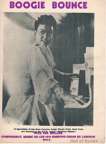 "Image for ""Boogie Bounce, recorded by Hazel Scott and featured in the film 'Broadway Rhythm'"""