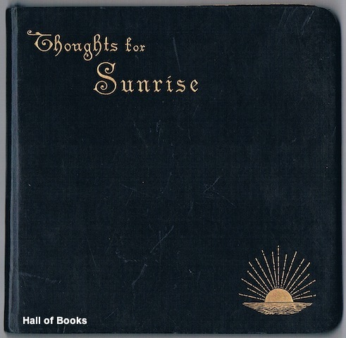 Image for Thoughts For Sunrise