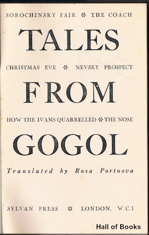 Image for Tales From Gogol