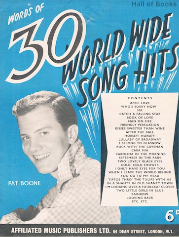 Image for Words Of 30 World Wide Song Hits