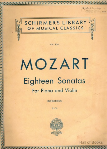 Image for Eighteen Sonatas For Piano And Violin