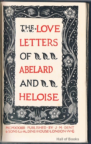 Image for The Love Letters Of Abelard and Heloise