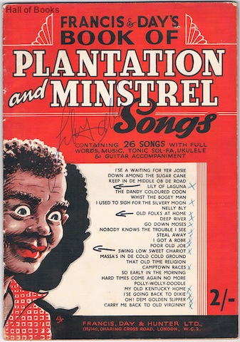 Image for Francis & Day's Book Of Plantation And Minstrel Songs