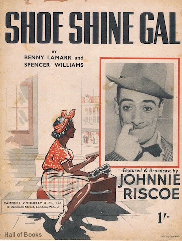 "Image for ""Shoe Shine Gal, featured and broadcast by Johnnie Riscoe"""