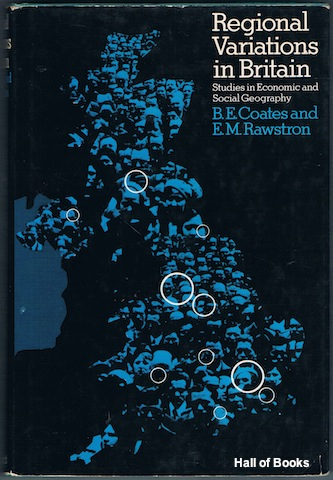 Image for Regional Variations In Britain: Studies In Economic and Social Geography
