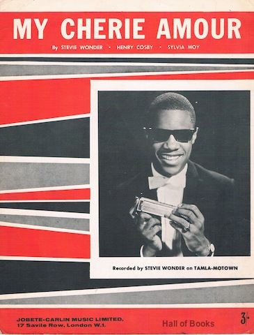 "Image for ""My Cherie Amour, recorded by Stevie Wonder"""