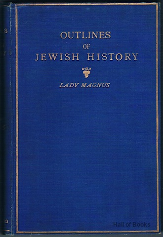 Image for Outlines Of Jewish History From B.C. 586 to C.E. 1890