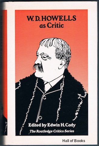 Image for W. D. Howells As Critic