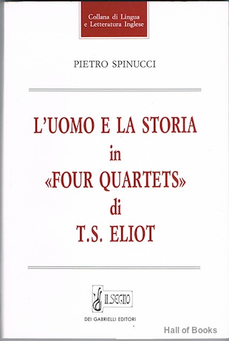 Image for L'Uomo E La Storia In 'Four Quartets' Di T. S. Eliot
