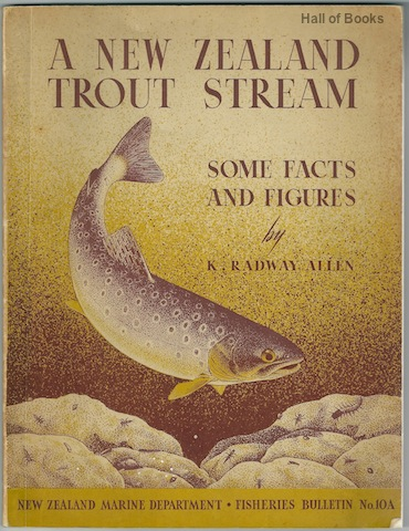 Image for A New Zealand Trout Stream: Some Facts And Figures