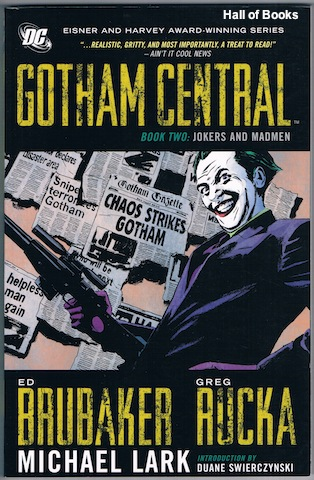 Image for Gotham Central Book Two: Jokers And Madmen
