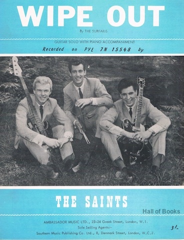 "Image for ""Wipe Out, recorded by The Saints"""