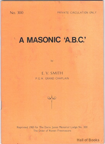 Image for A Masonic 'A.B.C.'