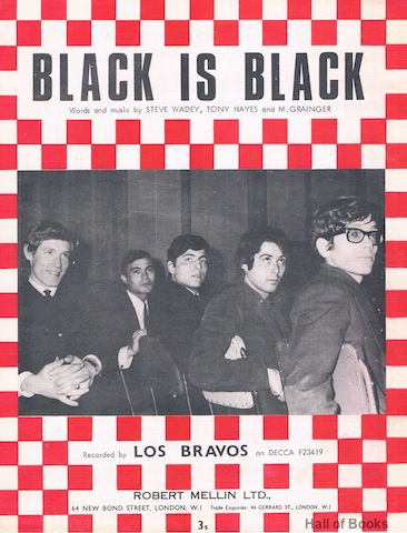Image for Black Is Black. Recorded By Los Bravos