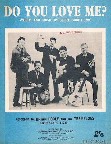 Image for Do You Love Me? Recorded By Brian Poole And The Tremeloes
