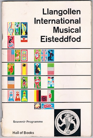 Image for The Fourteenth Llangollen International Musical Eisteddfod: Souvenir Programme 1960