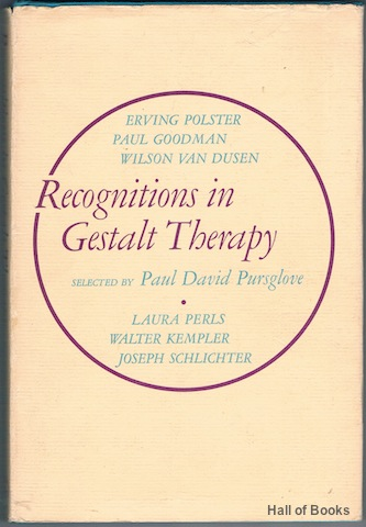 Image for Recognitions In GestaltTherapy