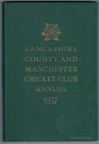 Image for Official Handbook Of The Lancashire County And Manchester Cricket Club. 1937