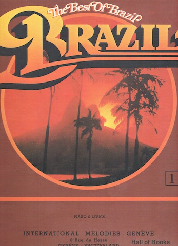 Image for The Best Of Brazil Volume 1: Piano and Lyrics