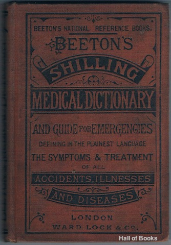 Image for Beeton's Medical Dictionary: A Safe Guide For Every Family