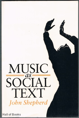 Image for Music As Social Text