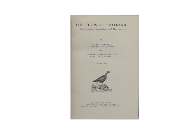 "Image for ""The Birds Of Scotland: Their History, Distribution, And Migration. Complete In Two Volumes"""