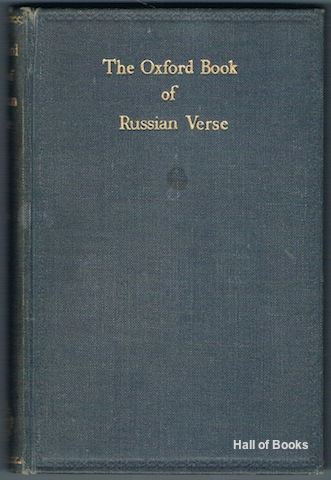 Image for The Oxford Book Of Russian Verse
