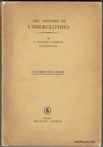 Image for The History Of Underclothes (Uncorrected Proof)