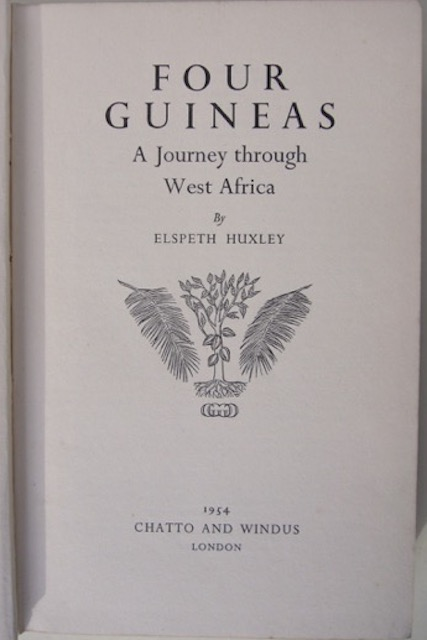 Image for Four Guineas: A Journey Through West Africa