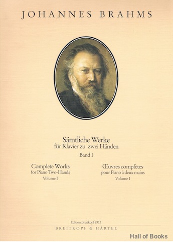 Image for Samtliche Werke fur Klavier zu zwei Handen: Complete Works for Piano Two-Hands. Band I/ Volume I