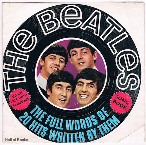 Image for The Beatles: The Full Words Of 20 Hits Written By Them
