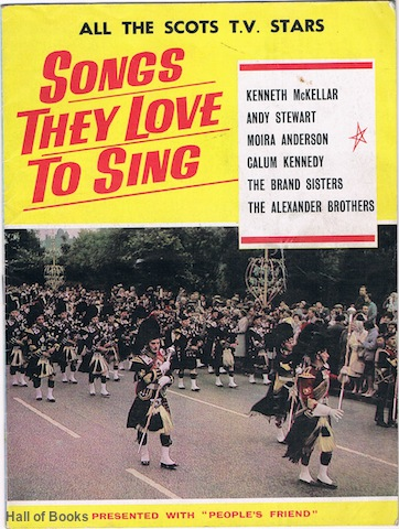 Image for All The Scots T.V. Stars: Songs They Love To Sing