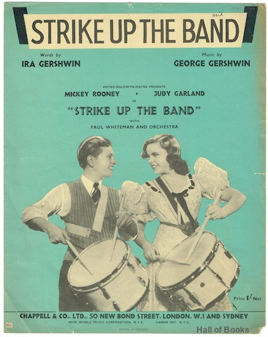 "Image for ""Strike Up The Band, featuring Mickey Rooney and Judy Garland with Paul Whiteman and Orchestra"""